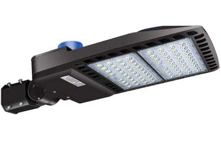 2. LED Parking Lot Lights(200W) by LEDMO