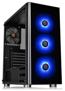 1. Thermaltake Tempered Glass Mid-Tower Chassis
