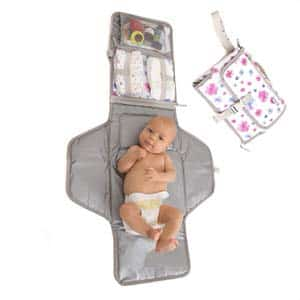 7. Baby Portable Changing Pad by MikiLife