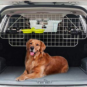 12. BINGPET Dog Car Barrier for SUV