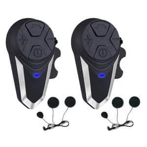 10. Fodsports BT-S3 1000m Motorcycle Bluetooth Headset