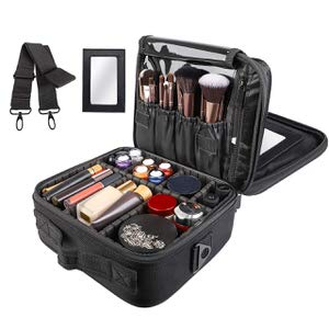 11. Kootek Travel Cosmetic Case Organizer