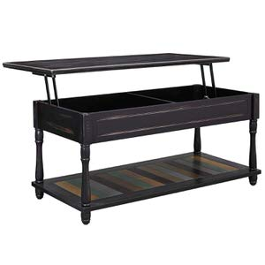 7. VASAGLE Lift-Top Coffee Table