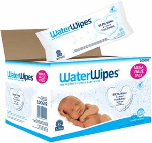 2. WaterWipes Sensitive Baby Wipes