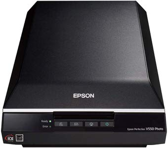 2. Epson Perfection V550 Color Photo Scanner