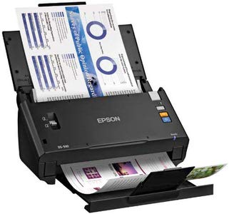 6. Epson WorkForce DS-510 Color Scanner