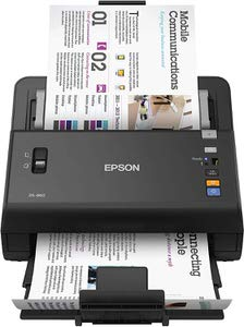 10. Epson DS-860 Document Scanner