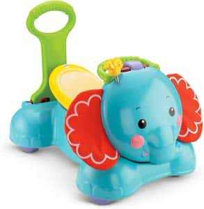 5. Fisher –Price 3-in-1 Bounce, Stride and Ride Elephant