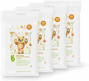 10. Babyganics Alcohol-free Hand Sanitizing Wipe