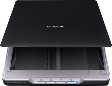 4. Epson Perfection V19 Color Photo Scanner