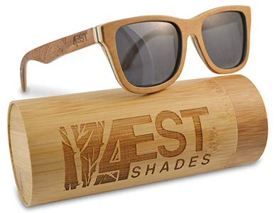 9. Wood Sunglasses Made From Maple