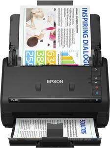 5. Epson WorkForce ES-400 Scanner for PC and Mac