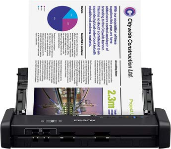 8. Epson WorkForce ES-200 Color Portable Scanner