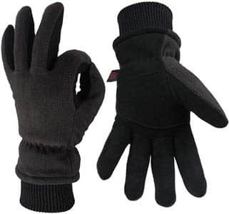 2. OZERO Thermal Glove Thermal Snow Work Ski Gloves
