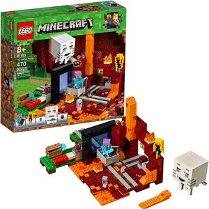 7. LEGO Minecraft The Nether Portal