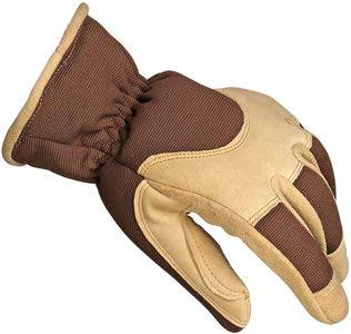 5. OZERO Work Gloves with Deerskin Suede Leather