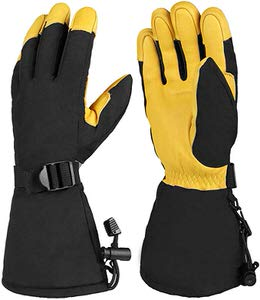9. OZERO Winter Ski Snow Gloves