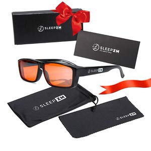 10. Sleep ZM Fit Over 99.9% Blue Light Blocking Glasses