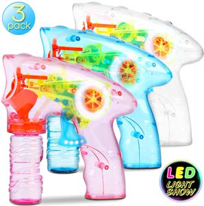 10. Bubble Machine Bubble Gun Shooter