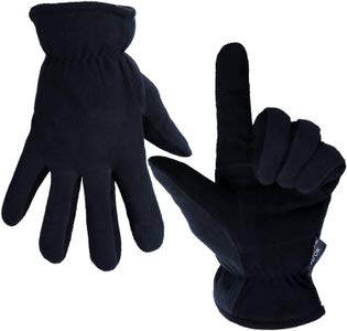 1. OZERO Winter Gloves -20F (-29 C) Cold Proof Thermal Work Gloves