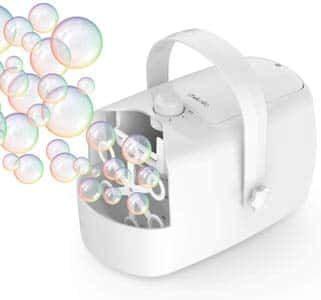 7. Bubble Machine iTeknic Automatic Bubble Blower