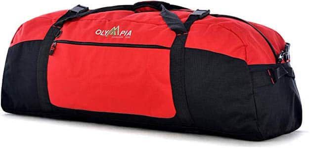 9. Olympia 36-inches Sports Duffel bag
