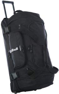 3. Olympia Sports Plus Drop Bottom Rolling Duffel Bag
