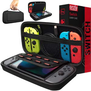 15. Orzly Compatible Nintendo Switch Carry Case.