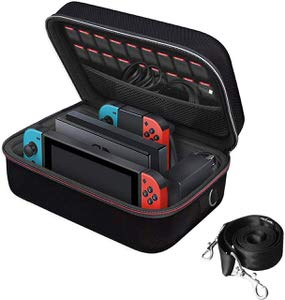 12. iVoler PortableTravel Carrying Storage Case for Nintendo Switch
