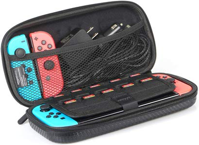 3. AmazonBasics Carrying Case for Nintendo Switch & Accessories