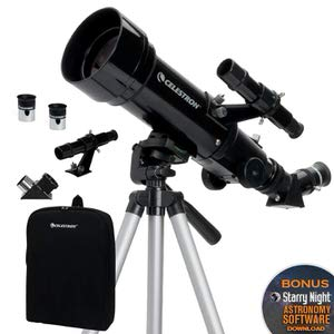 1. Celestron - 70mm Travel Scope