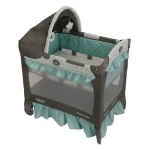 2. Graco Pack 'n Play Travel Lite Crib Playard, Winslet