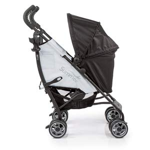 7. Summer 3Dflip Black/Gray Convenience Stroller