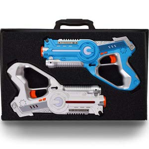 4. DYNASTY TOYS Family Games Laser Tag Set