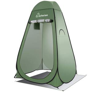 3. WolfWise Pop Up Privacy Shower Tent
