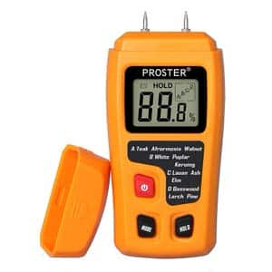 6. Proster 2 Pins Wood Moisture MeterTest