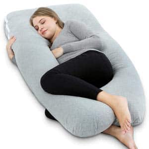 6. AngQi Full-Body Pregnancy Pillow