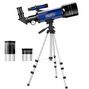 3. Emarth 70mm Astronomical Refracter Telescope