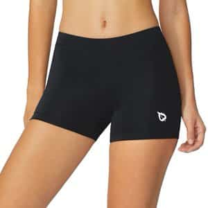 5. BALEAF Women's Active Fitness Volleyball Shorts