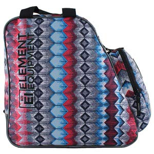 3. Element Equipment Heather Grey/BlueSki Boot Bag