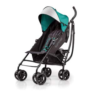 1. Summer 3D Teal lite Convenience Stroller