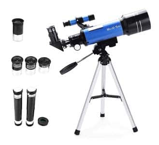 4. MaxUSee 70mm Refractor Telescope with Tripod