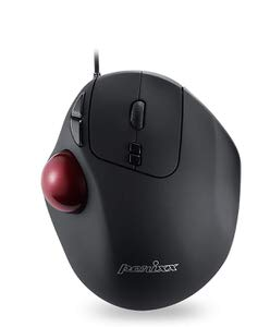 10. Perixx Wired Trackball USB Mouse