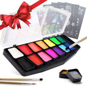 12. festiFACE 14 Color Face Painting Kit