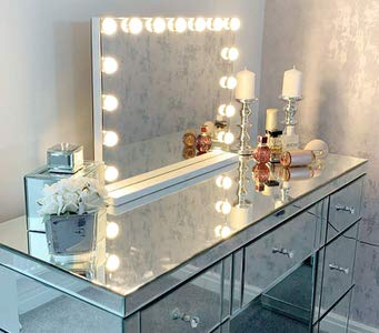 14. Hansong Large Vanity Mirror with Lights
