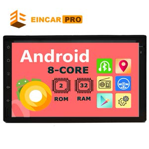9. EinCar Android 8 Core Car Stereo Tablet Receiver