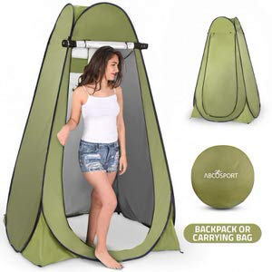 10.Abco TechPop Up Privacy Tent