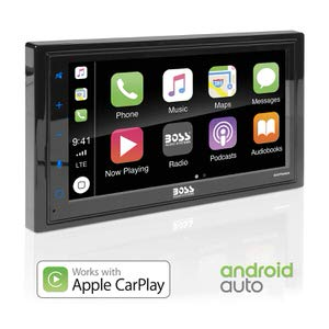 5. BOSS Audio Systems BVCP9685A Android Auto Car Multimedia Player
