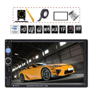 2. TDYJWELL 7 inch Double Din Touch Screen Car Stereo
