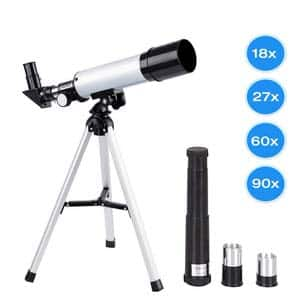 12. Manfore 90X Science Astronomical Telescope with Tripod